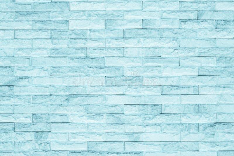 Fundo preto e azul da textura da parede de tijolo foto de stock
