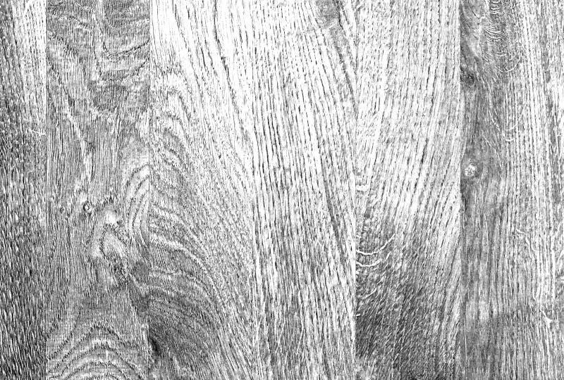 Fundo preto e branco de madeira velho da textura Placas ou painéis foto de stock