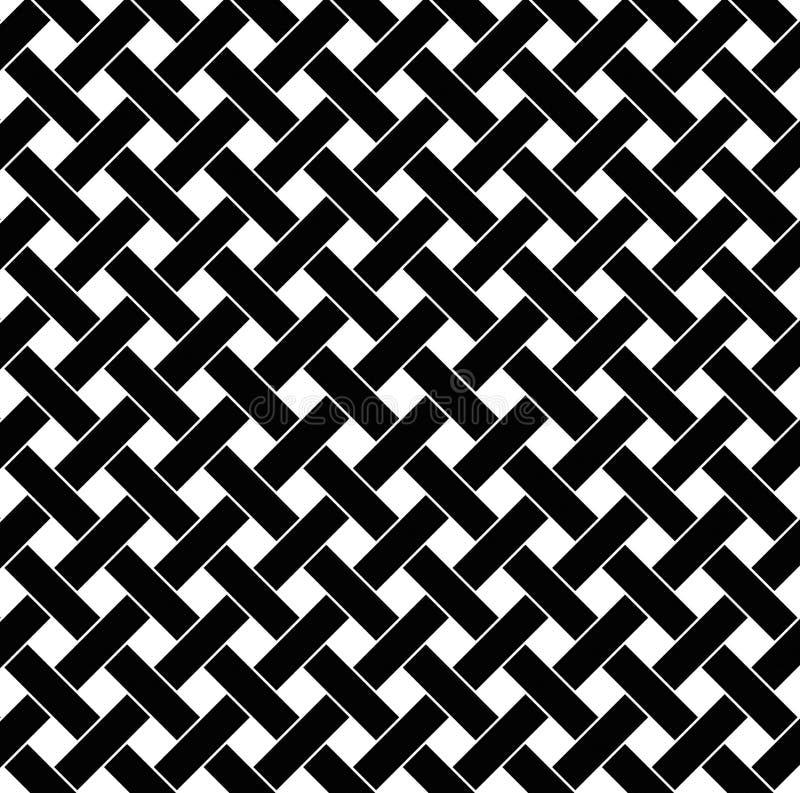 Fundo preto e branco do tecido ilustração do vetor
