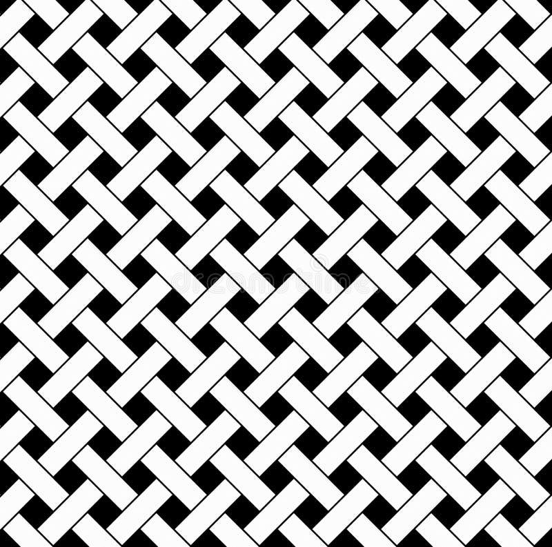 Fundo preto e branco do tecido ilustração royalty free