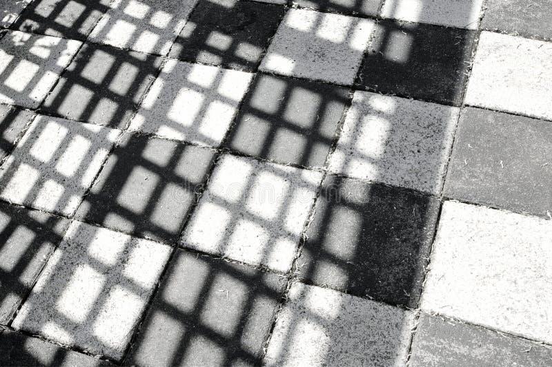 Fundo preto e branco sombreado imagens de stock