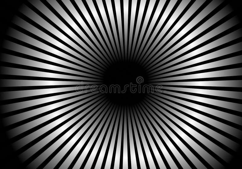 Fundo psicadélico do túnel ilustração royalty free