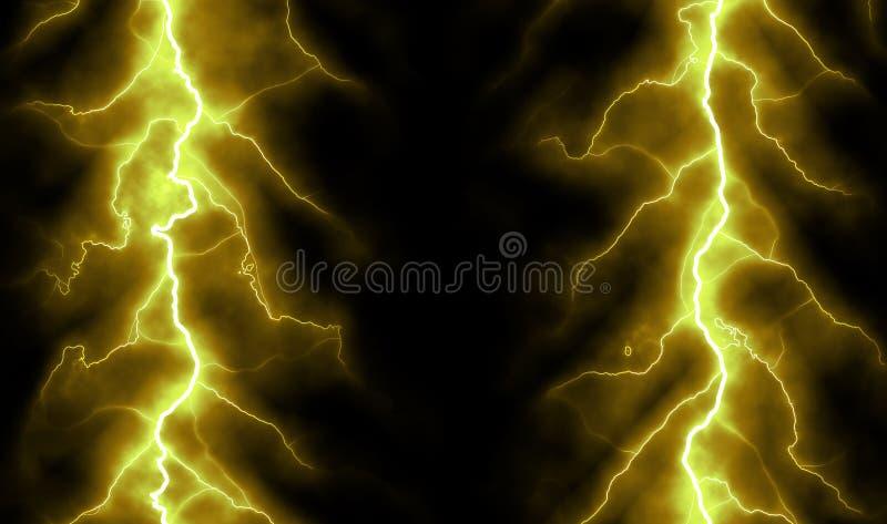 Fundo puro da energia e da eletricidade ilustração royalty free