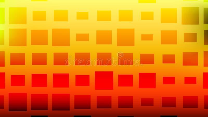 Fundo quadrado de intervalo mínimo colorido Cartão abstrato moderno do inclinação ilustração do vetor