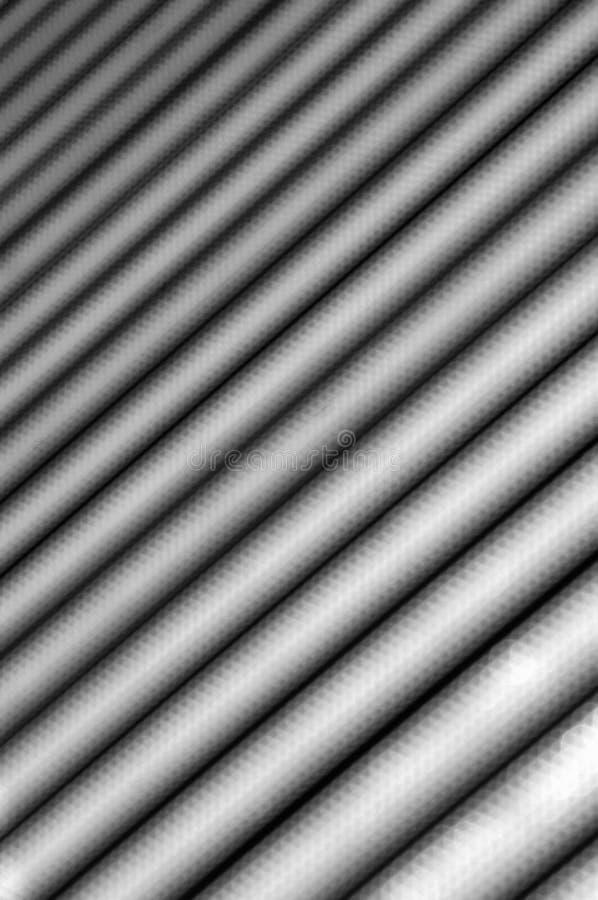 Fundo que consiste em listras claras e escuras de diagonalmente com um borrão gradual imagens de stock