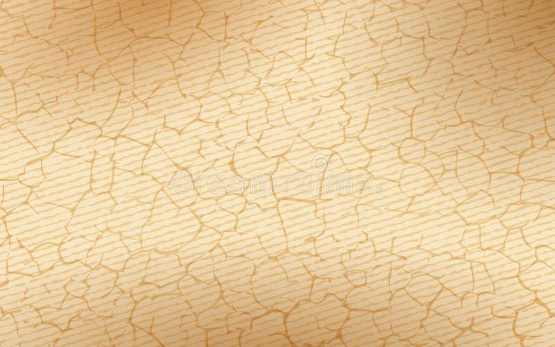 Fundo rachado abstrato da textura ilustração do vetor