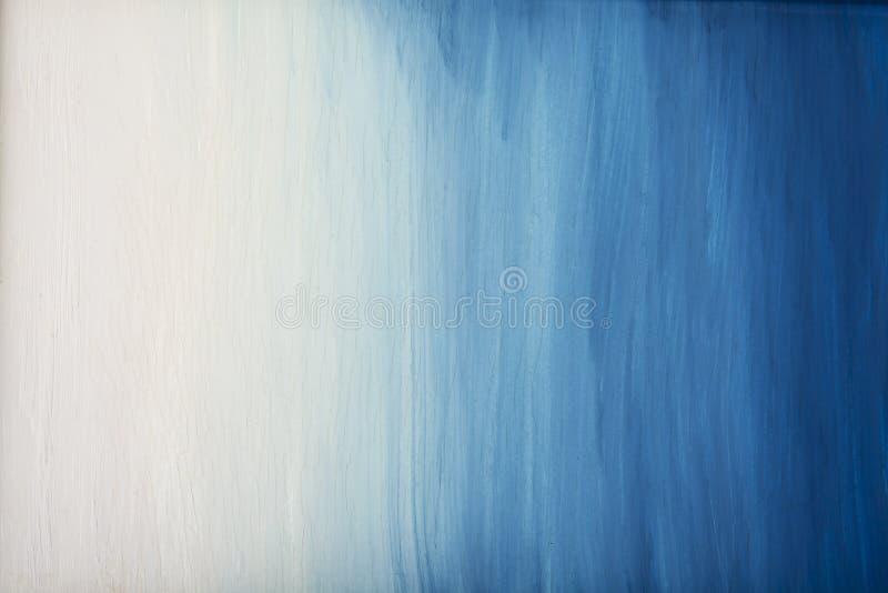 Fundo rachado da pintura da arte velha do céu azul ilustração stock