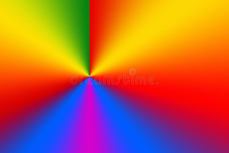Fundo radial do inclinação da roda de cor do espectro Grão muito fina extra para a sagacidade perfeita da impressão do inclinação ilustração royalty free
