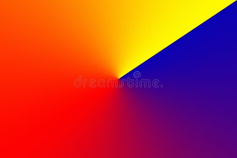 Fundo radial do inclinação da roda de cor do espectro Grão muito fina extra para a sagacidade perfeita da impressão do inclinação ilustração stock