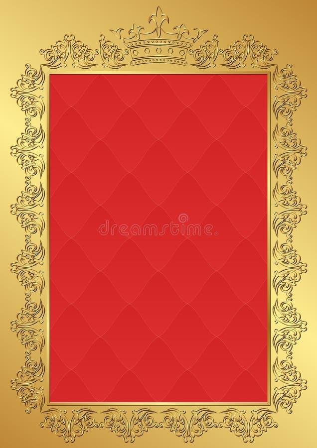 Fundo real ilustração royalty free