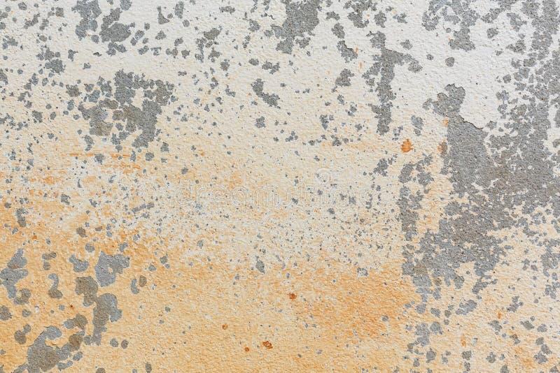 Fundo resistido parede da textura do almofariz do cimento branco fotografia de stock royalty free