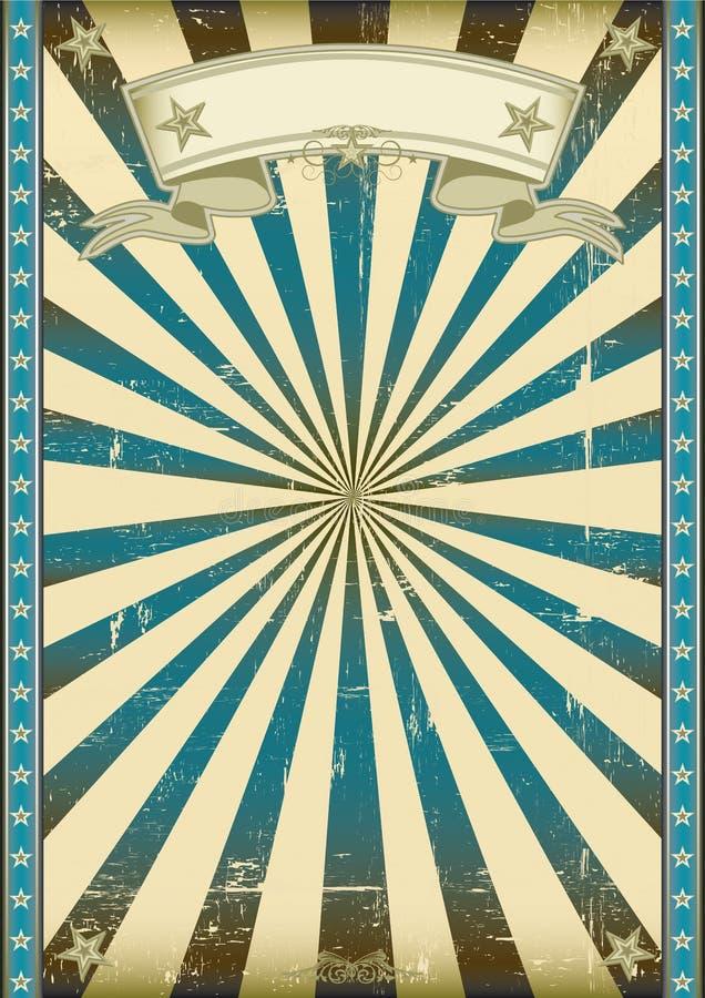 Fundo retro azul Textured ilustração royalty free