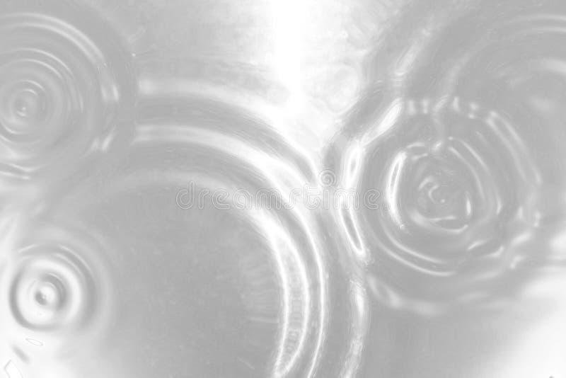Fundo rippled de prata líquido Textura do metal ilustração 3D ilustração royalty free