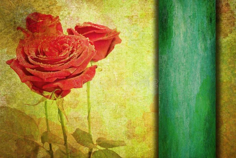 Fundo romântico abstrato do vintage do Valentim ilustração do vetor