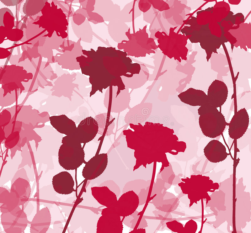 Fundo rosado ilustração do vetor