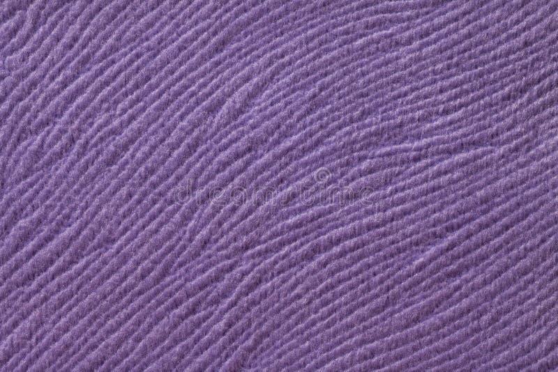 Fundo roxo do material de matéria têxtil macio r fotografia de stock