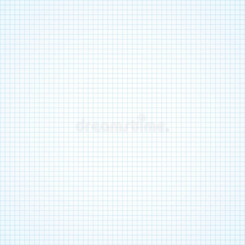 Fundo sem emenda branco do papel esquadrado ilustração stock