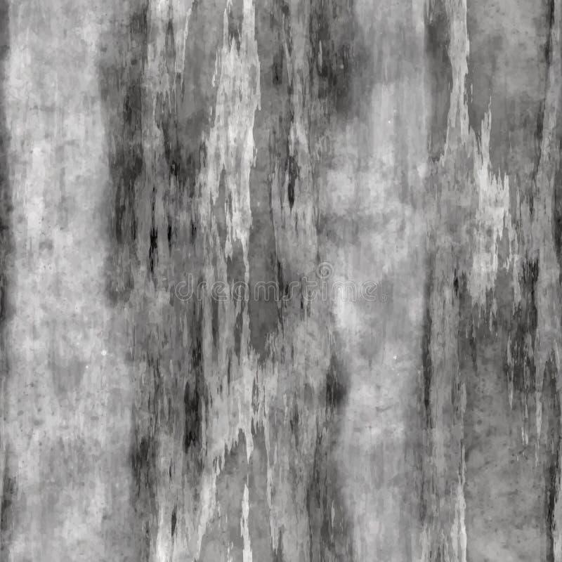 Fundo sem emenda da parede do Grunge ilustração do vetor