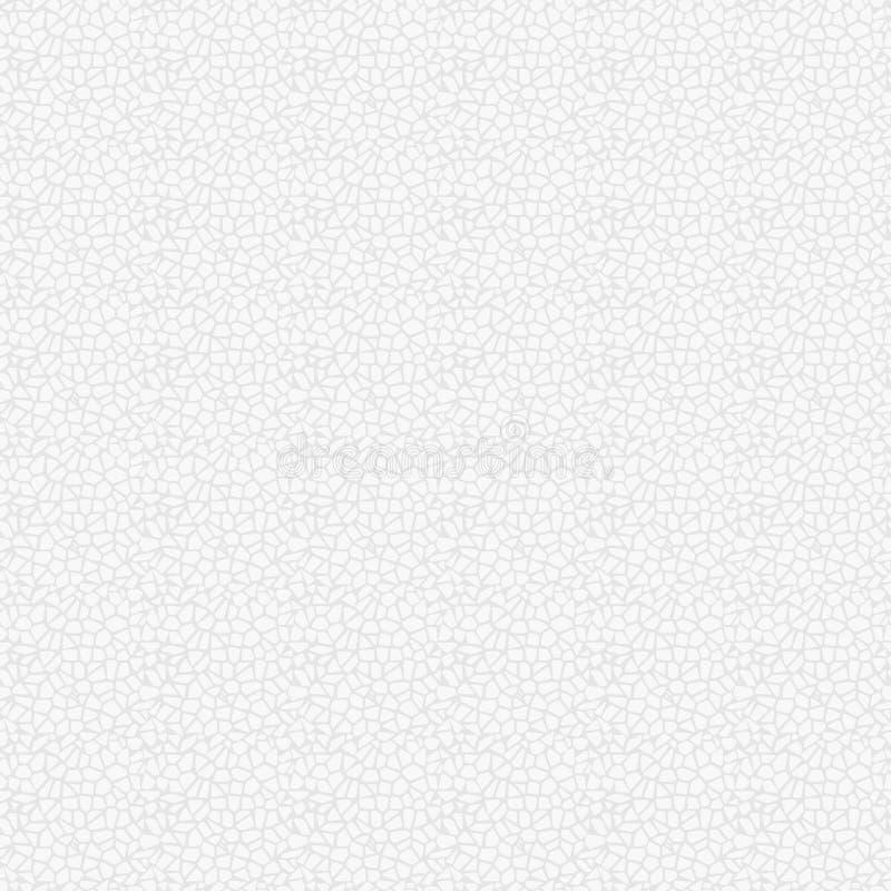 Fundo sem emenda da textura do couro branco Eps 10 ilustração do vetor