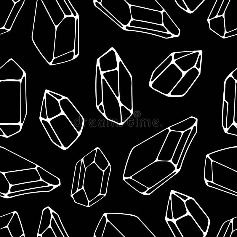 Fundo sem emenda das pedras geométricas Ideal para telas e pap?is de envolvimento ilustração stock