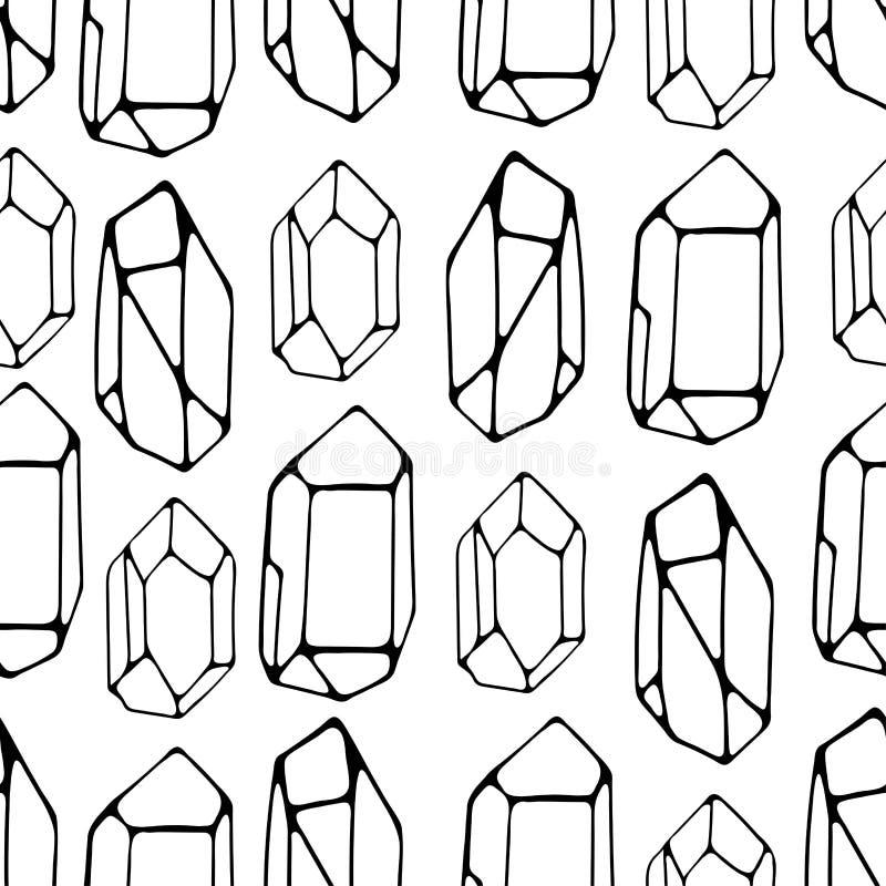 Fundo sem emenda das pedras geométricas Ideal para telas e pap?is de envolvimento ilustração do vetor