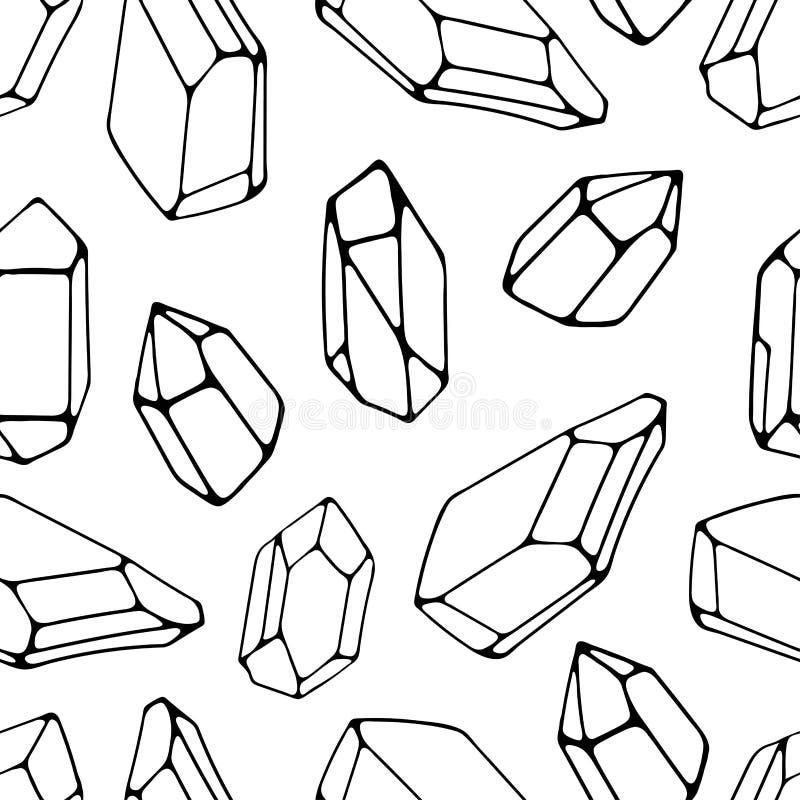 Fundo sem emenda das pedras geométricas Ideal para telas e pap?is de envolvimento ilustração royalty free