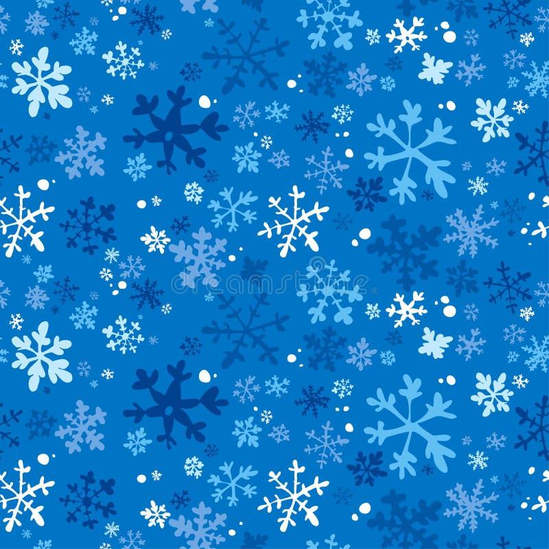Fundo sem emenda do inverno. ilustração stock