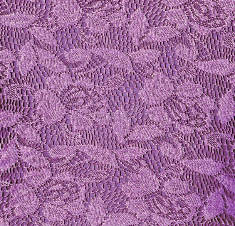 Fundo sem emenda do laço floral roxo fotos de stock royalty free