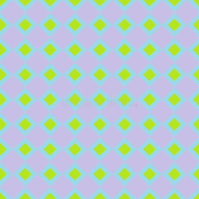 Fundo sem emenda do papel de parede com lotes de quadrados coloridos imagens de stock royalty free
