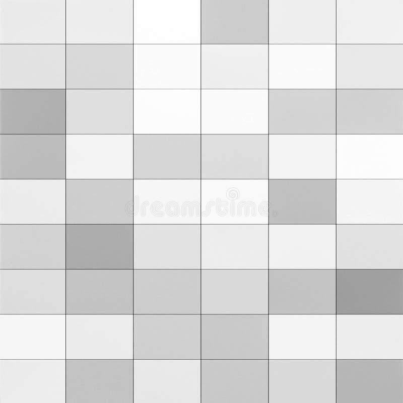 Fundo sem emenda do sumário cinzento da telha para o projeto do contexto imagens de stock