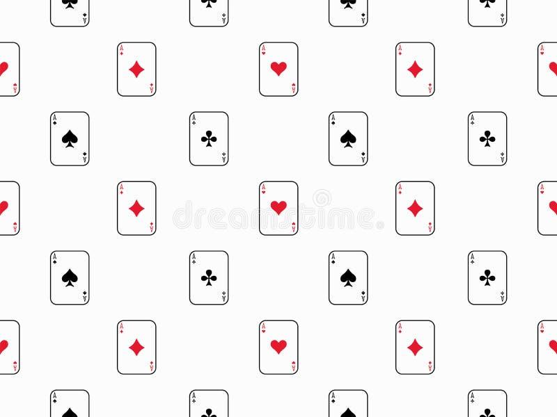 Fundo sem emenda do teste padrão do cartão fotografia de stock royalty free
