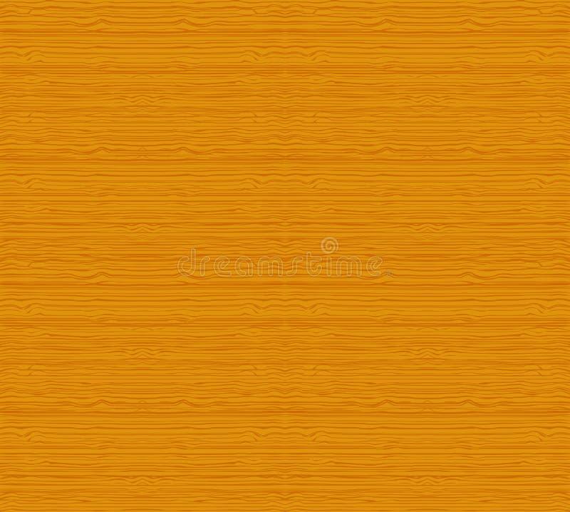Fundo sem emenda do teste padrão da textura de madeira ilustração do vetor