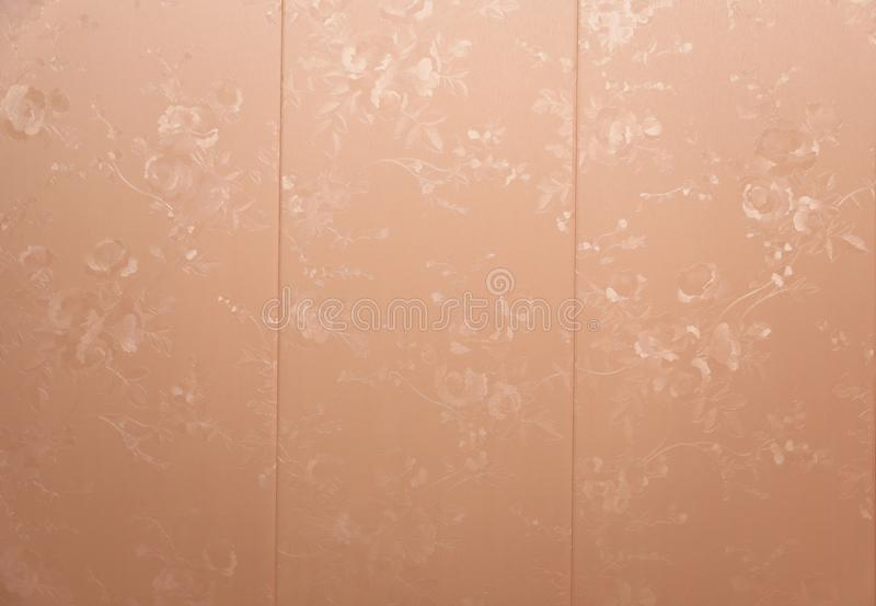 Fundo sem emenda do teste padrão O damasco Wallpaper fotografia de stock royalty free