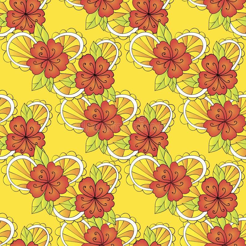 Download Teste padrão de flor ilustração do vetor. Ilustração de celebrations - 29826946