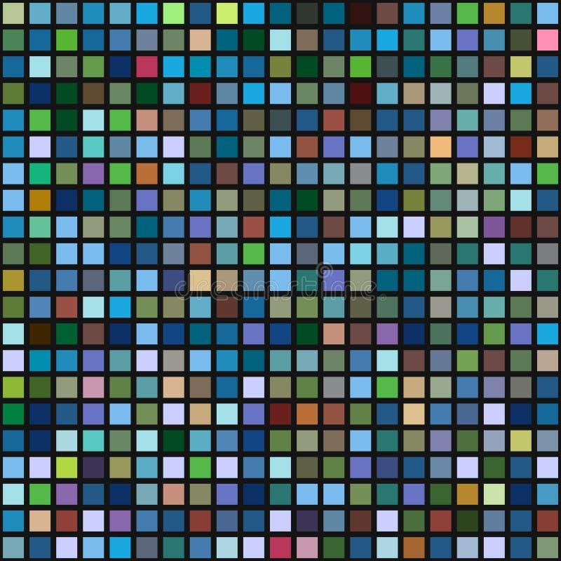 Fundo sem emenda geométrico abstrato ilustração stock