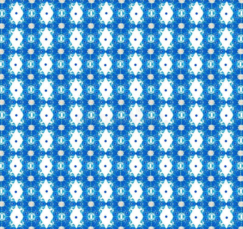 Fundo sem emenda geométrico abstrato do teste padrão ilustração royalty free