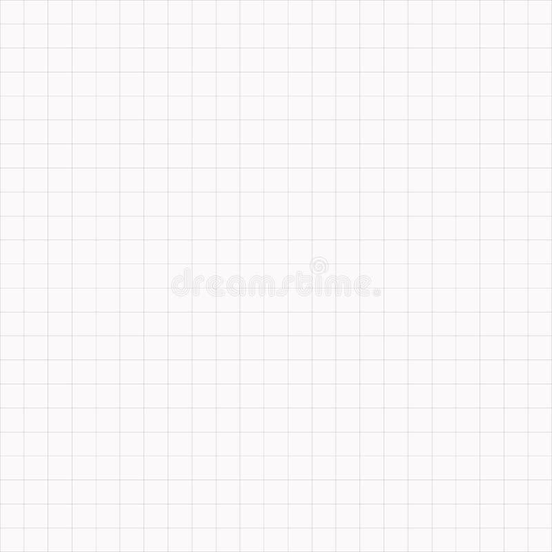 Fundo sem emenda simples do papel de gráfico do vetor ilustração royalty free