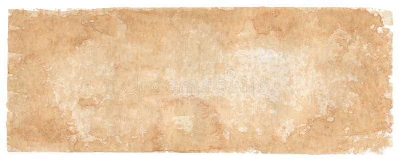 fundo Sepia-colorido - aguarelas ilustração do vetor