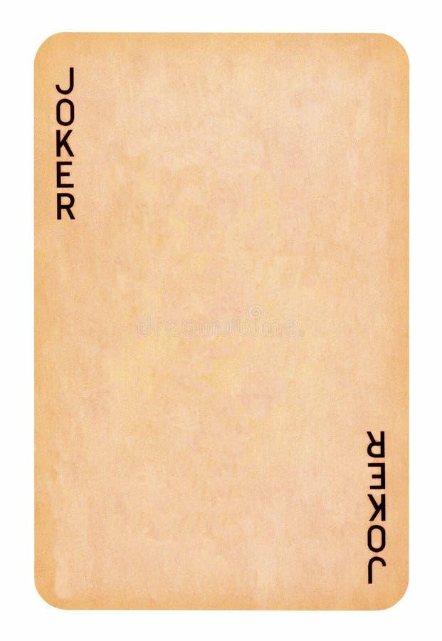 Fundo simples do vintage: cartão de jogo imagens de stock