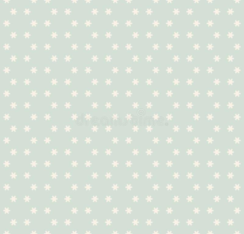 Fundo simples nas cores pastel claras, pálidas - verde e bege ilustração do vetor