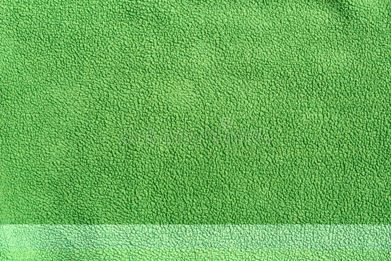 Velo sintético macio verde imagens de stock