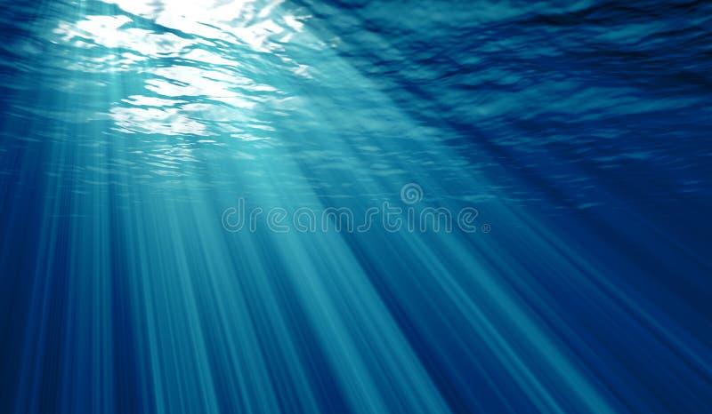 Fundo subaquático ilustração do vetor