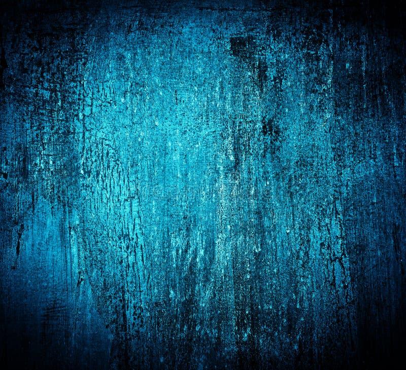 Fundo sujo rachado textured azul ilustração royalty free