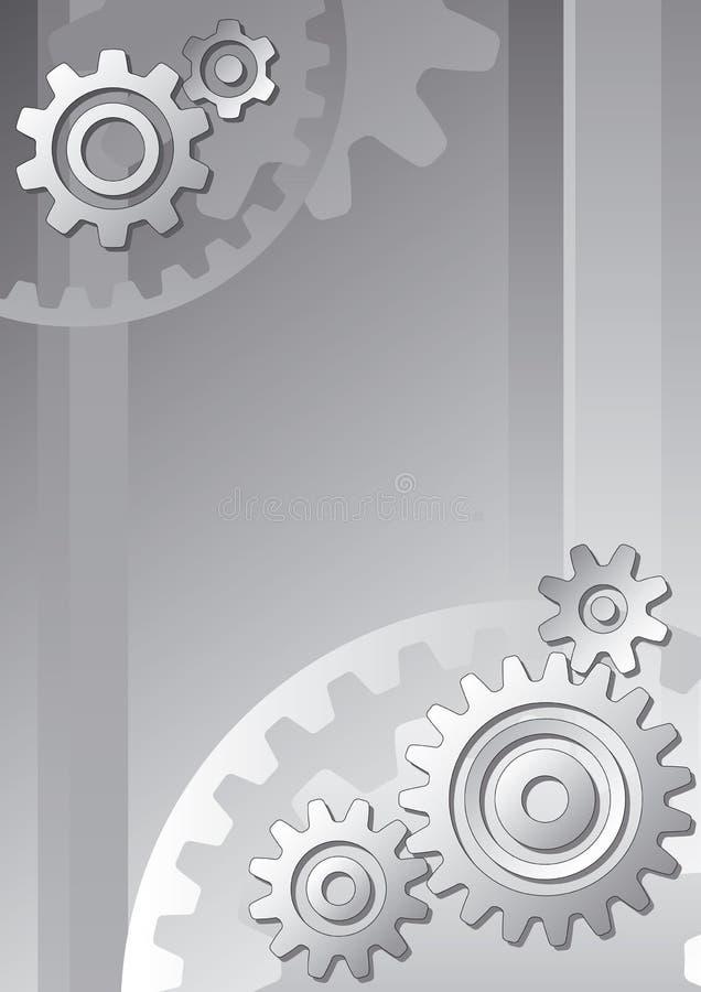 Fundo técnico ilustração do vetor