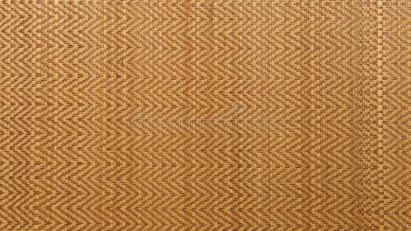 Fundo tecido asiático da textura da esteira da madeira ou do rattan imagens de stock