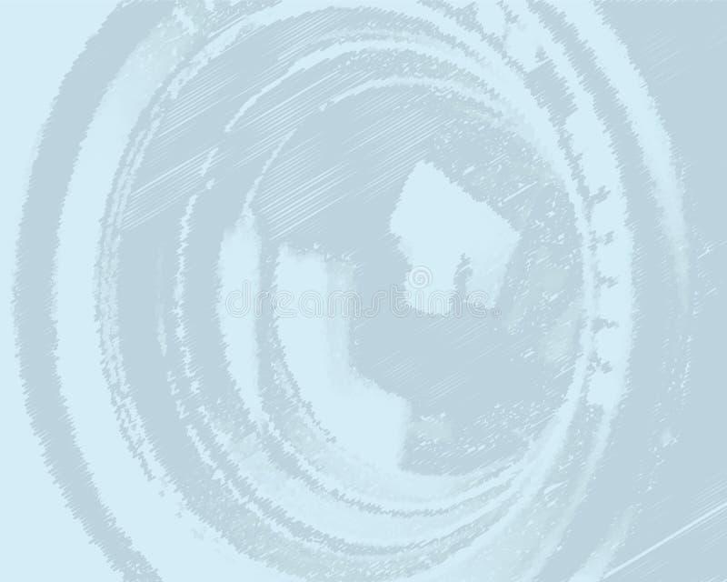 Fundo Tele (vetor) ilustração stock
