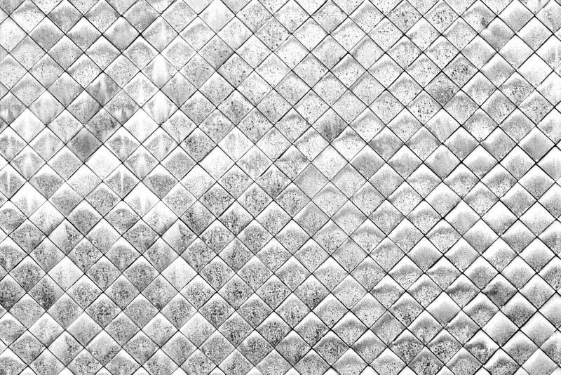 Fundo telhado branco velho da parede imagem de stock