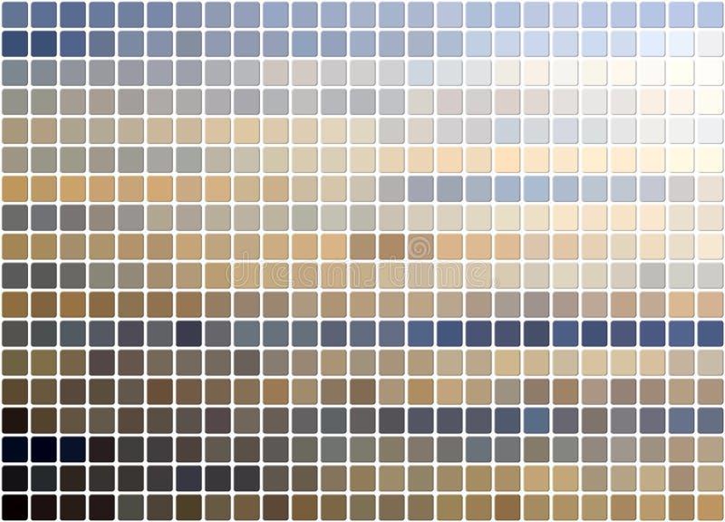 Fundo telhado do blue&beige fotos de stock