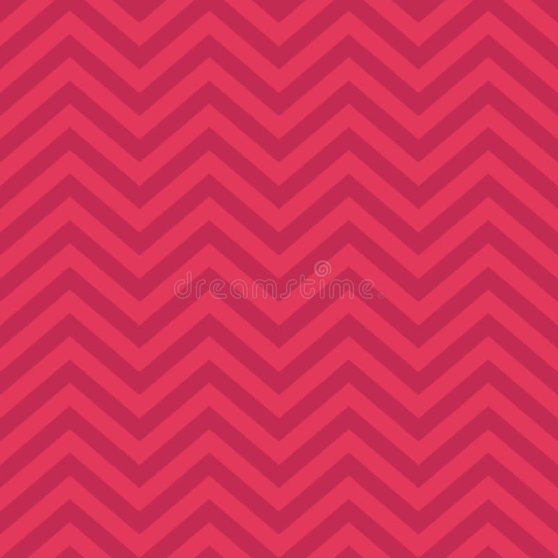 Fundo, teste padrão, textura para bater o papel, cartões, convite, bandeiras e decorati de Valentine Day Pink Geometric Seamless ilustração stock