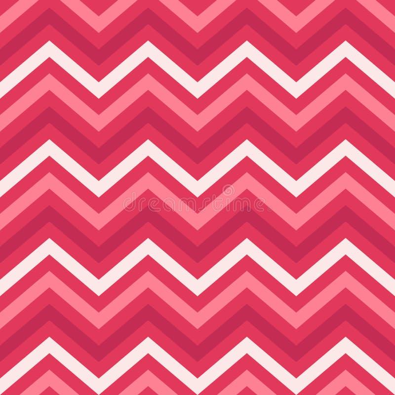 Fundo, teste padrão, textura para bater o papel, cartões, convite, bandeiras e decorati de Valentine Day Pink Geometric Seamless ilustração do vetor
